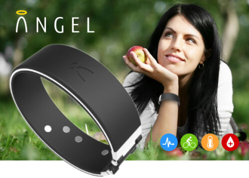 Angel fitness sensor promises heart rate warnings and open access, storms through crowdfunding goal