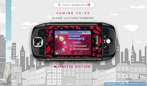 T Mobile Sidekick 3 Special Editions Phonearena