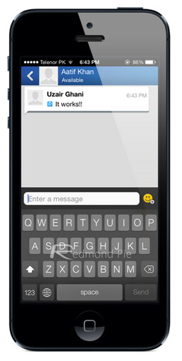 Workaround to prevent crashing of BBM for iOS