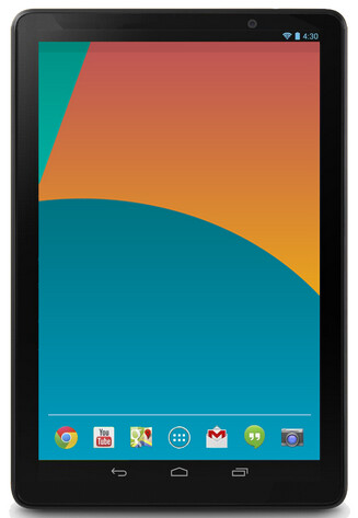Alleged press render of the Asus built Google Nexus 10 (2013)