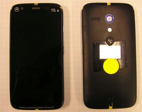 Pictures of  the Motorola DVX aka the Moto G?