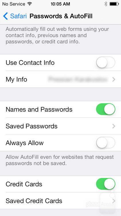If a website doesn't allow Keychain to store your password, go to Settings > Safari > Passwords & AutoFill and enable the Always Allow option