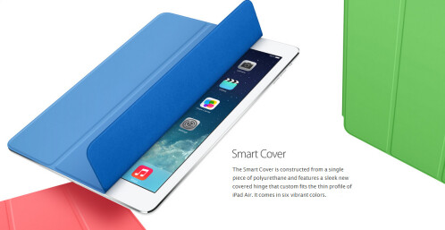 iPad Smart Case $79.99 / iPad Smart Cover $39.99