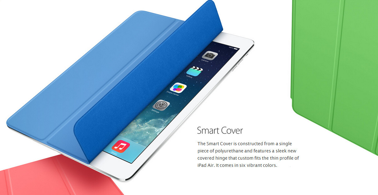 iPad Smart Case $79.99 / iPad Smart Cover $39.99