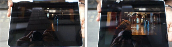 Assertive display (on the right) when watching a movie outdoors - Nokia Lumia 1520 is first with assertive display: watch it easily beat Galaxy Note 3's screen