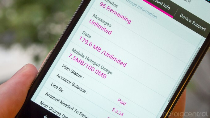 Free tethering is showing up on T-Mobile's pre-paid plans