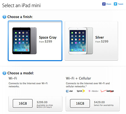Space gray Apple iPad mini is now available - Space-gray Apple iPad mini hits the Apple Stores