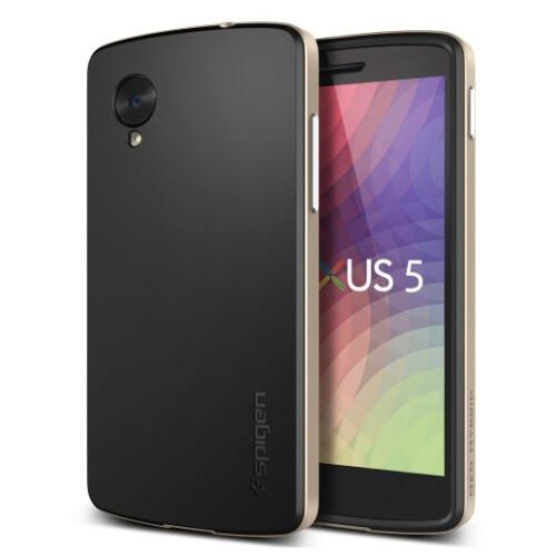 Nexus 5 cases from Spigen