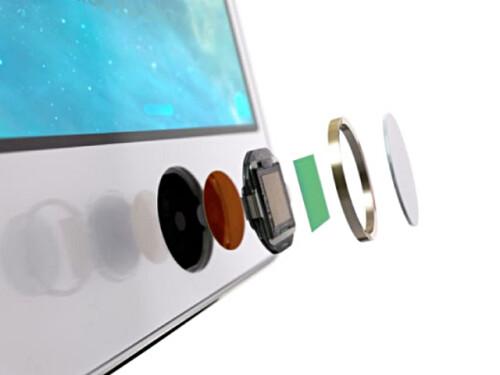 Touch ID fingerprint sensor