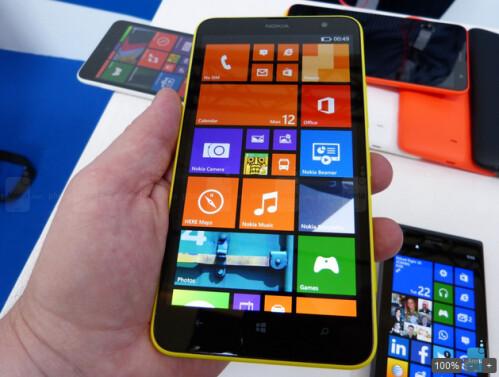 The Nokia Lumia 1320 is priced at 399 Euros overseas