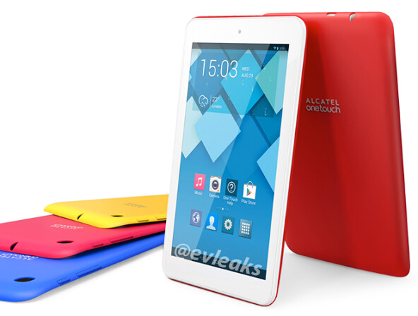 The Alcatel ONE TOUCH POP 7 - Image of Alcatel ONE TOUCH POP 7 Android tablet leaks