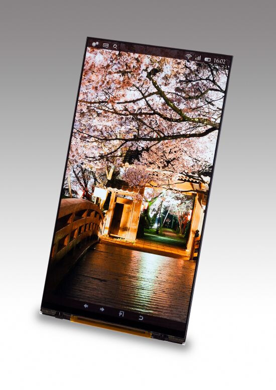 Japan Display unveils a 5.4'' and 6.2'', 1440x2560 pixel resolution screens