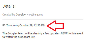 Google's press conference on Tuesday will reveal updates to Google+