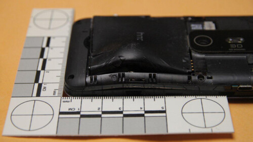 HTC EVO 3D saves its owner's life