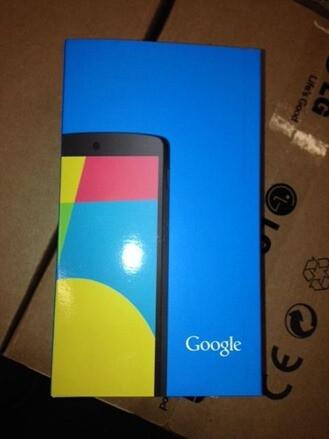 Is the Nexus 5 coming today?