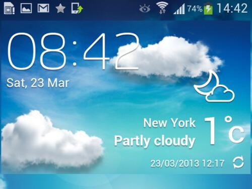 Redesigned TouchWiz UI