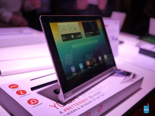 Lenovo Yoga Tablet 10-inch hands-on photos