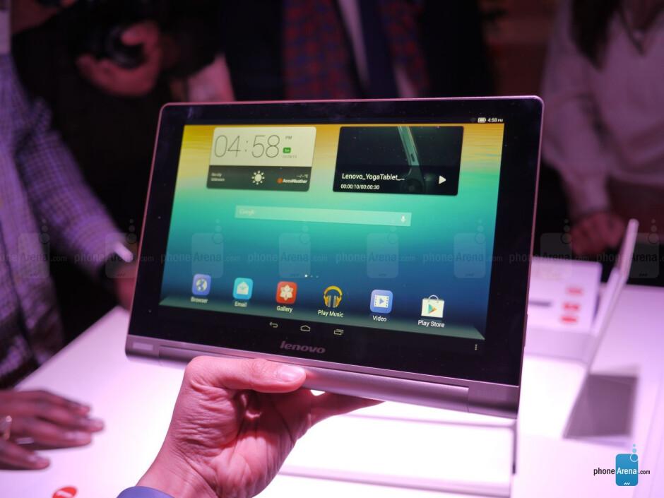 Lenovo Yoga Tablet 10-inch hands-on