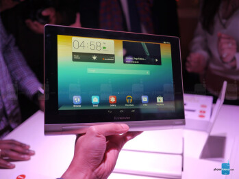 Lenovo Yoga Tablet 10-inch hands-on