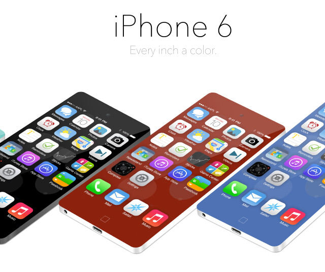 """Apple iPhone 6 with 5"""" 1080p display and ultra narrow bezel could arrive next September"""