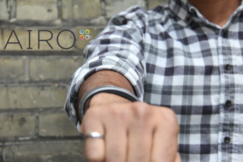 Airo wristband promises to track all you eat, show you proteins, carbs and fats