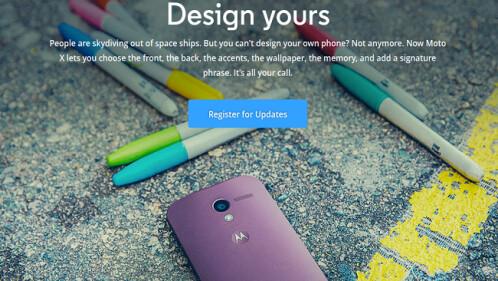 Moto Maker-like service
