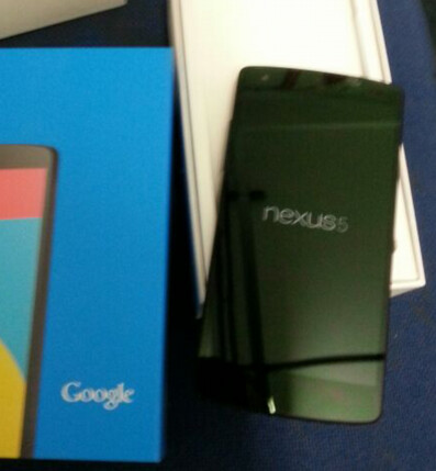 Nexus 5, out of the box