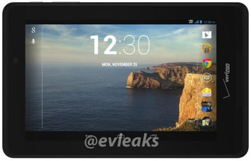 Verizon Ellipsis tablet