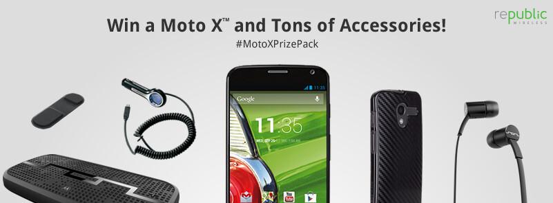 Win a Motorola Moto X, a year of service and accessories from Republic Wireless - Win a Motorola Moto X, 12 free months of service, a Motorola Skip and more from Republic Wireless
