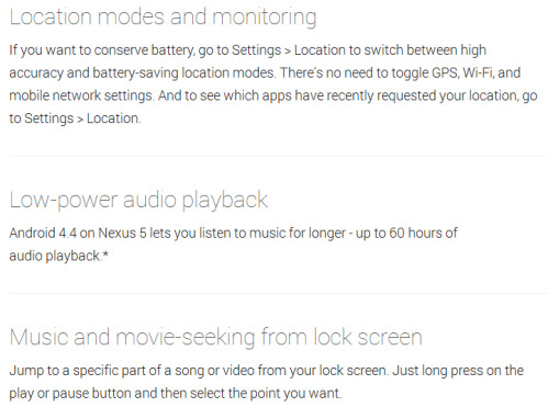 Music and video seek from lock screen, low-power location mode