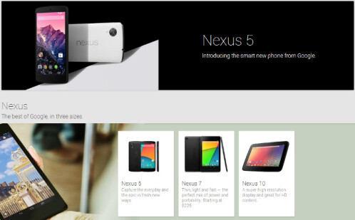 Nexus 4 is no longer sold on Google Play