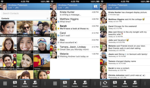 BlackBerry Messenger - Android, iOS - Free