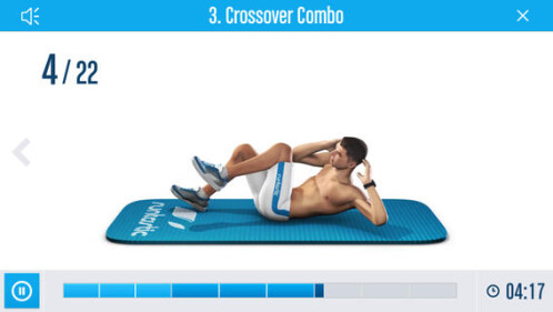 Runtastic Six Pack Abs Workout - Android, iOS - Free