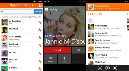 Nimbuzz - Windows Phone - Free