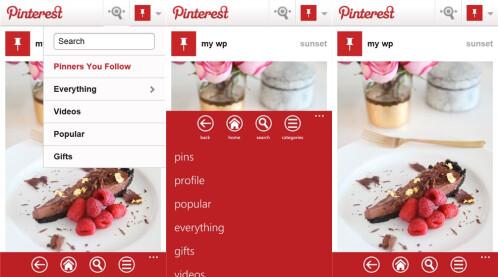 Pinterest - Windows Phone - Free