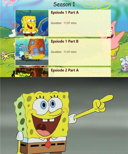 Spongebob Squarepants - Windows Phone - Free