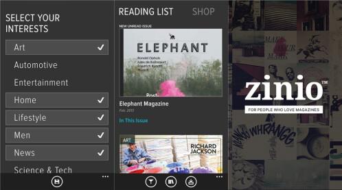 Zinio - Windows Phone - Free