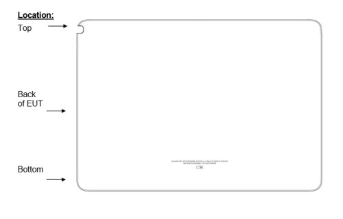 Images from FCC visit for 12.2 inch Samsung Galaxy Note tablet