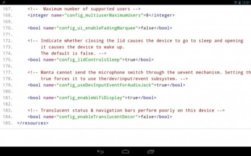 Code shows that in Android 4.4.1, the translucent bars have been disabled on the Nexus 10