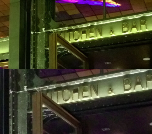 Nexus 5 compared to Nokia Lumia 1020 in low-light photography