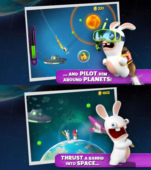 Rabbids Big Bang - Android, iOS - $0.99