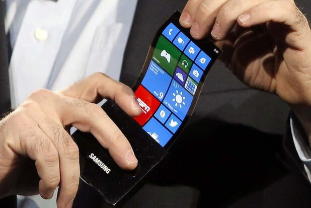 A flexible screen for a future Windows Phone model