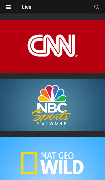 View live streaming television on your iOS or Android device with the Xfinity TV Go app
