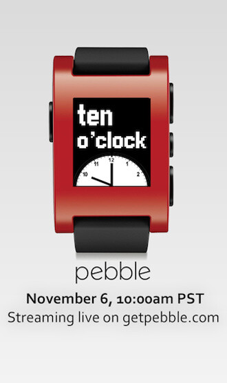 Pebble smartwatch to get new software features tomorrow, live event scheduled