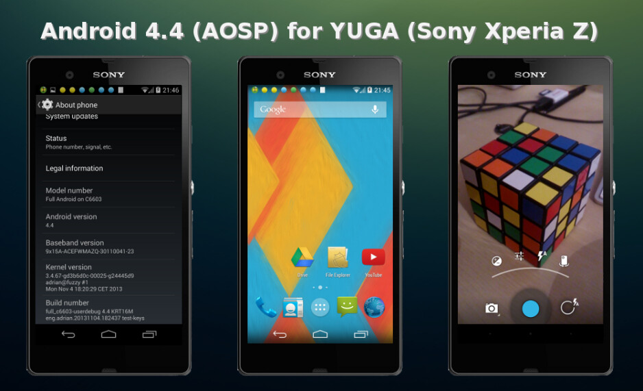 Sony Xperia Z gets the Android 4.4 KitKat treatment in a stable ROM release