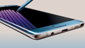 Check out the GALAXY NOTE 7 in blue, silver and gold