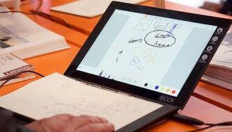 Lenovo Yoga Book PREVIEW: the notepad from the future