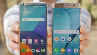 LG G6 vs Galaxy S7 edge: first look