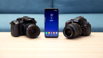 Galaxy S8 challenges two dedicated cameras to a photo shootout!
