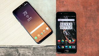 OnePlus 5 vs Galaxy S8+: A battle of wits